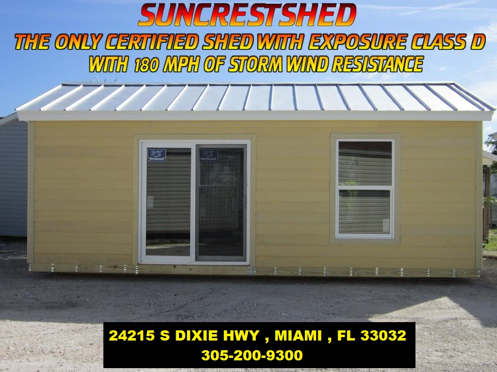 open 7 days a week - Garden Sheds Florida