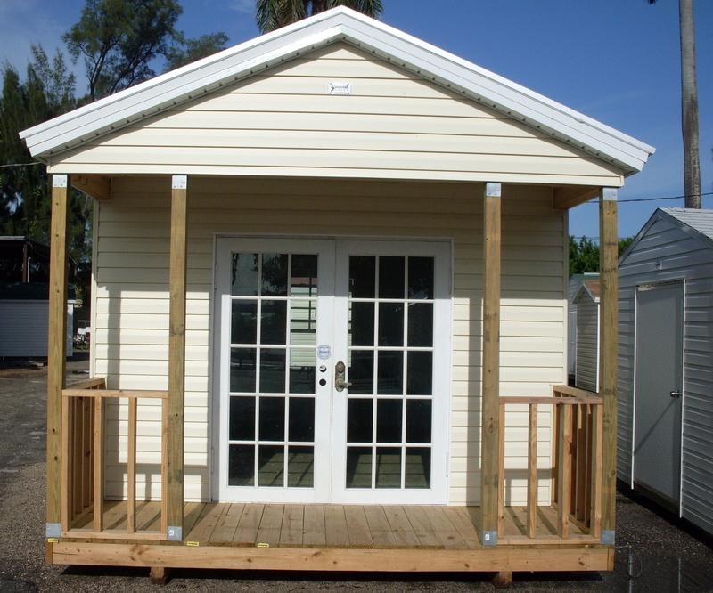 12x18 w/ 4' porch