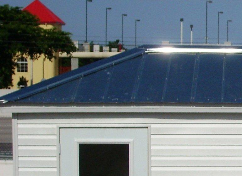 Galvalume Roof - SUNCRESTSHED
