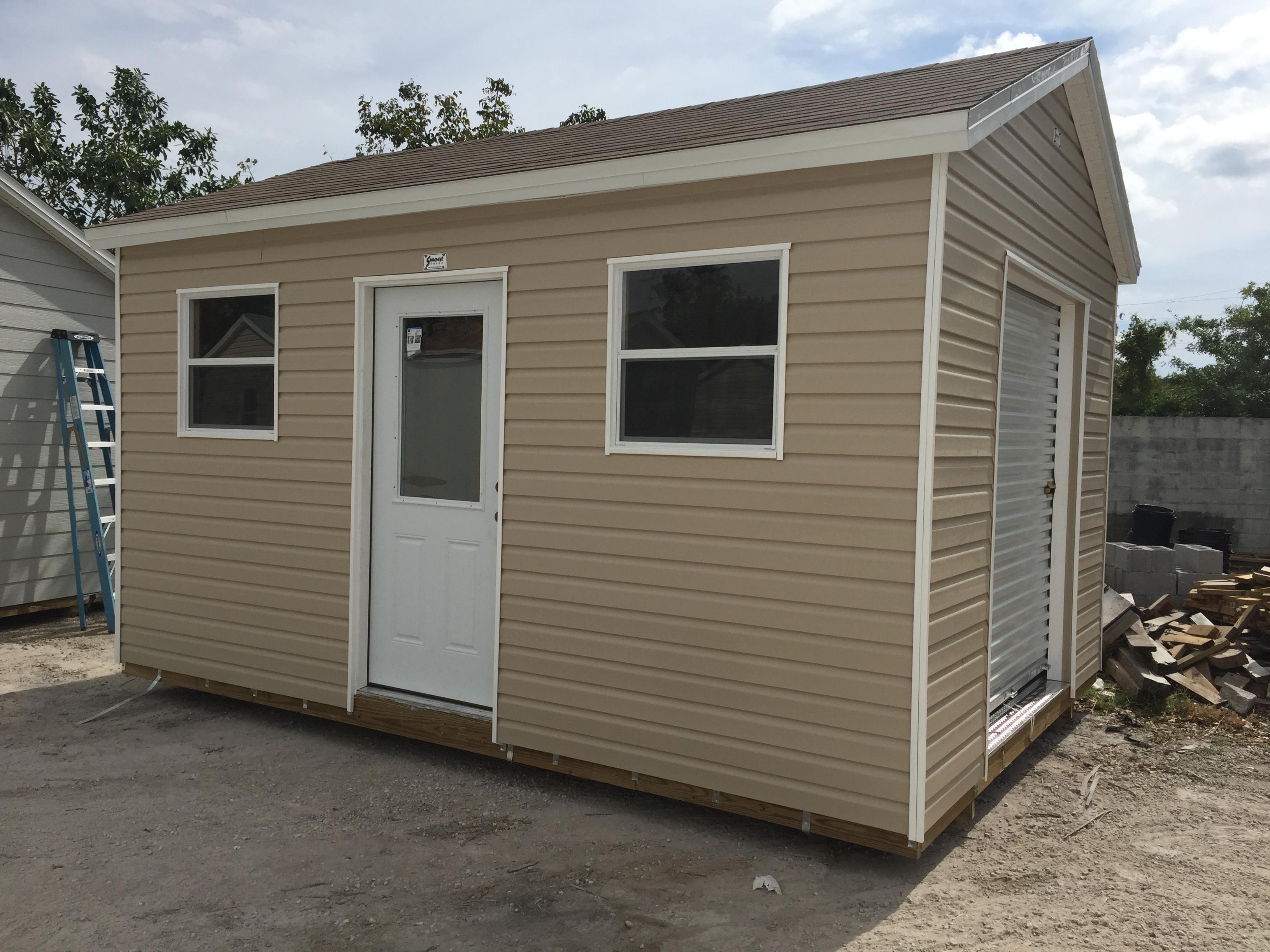 10x16 , home door , roll up