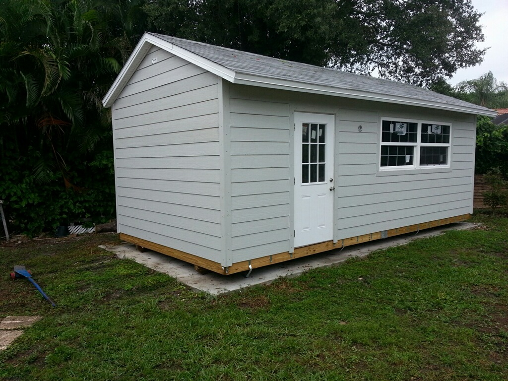 12x24 , pool house , utility building