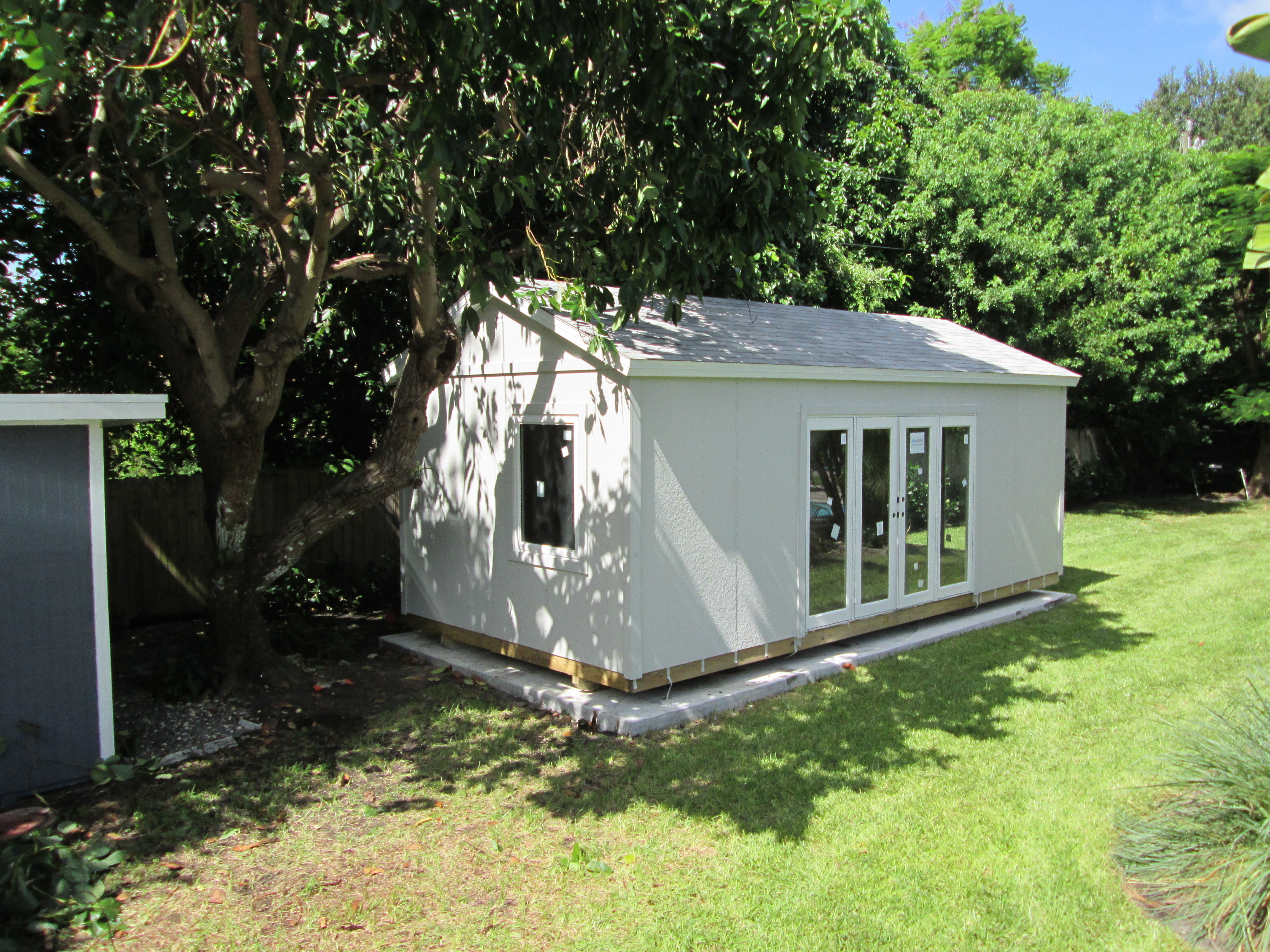 utility building pool house , office , 12x24