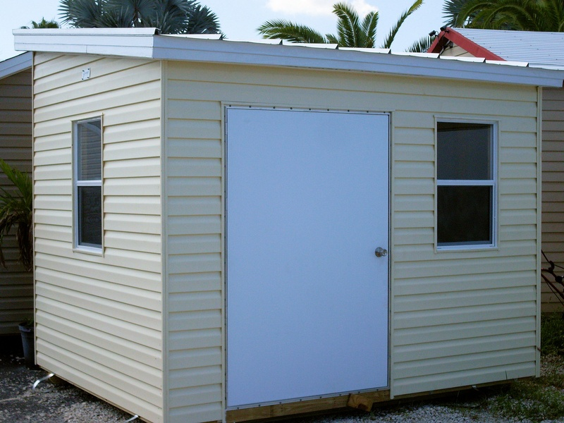 8x10 single gable