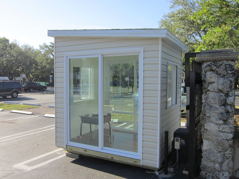 6x8 Small Home Office Guard Station Suncrestshed