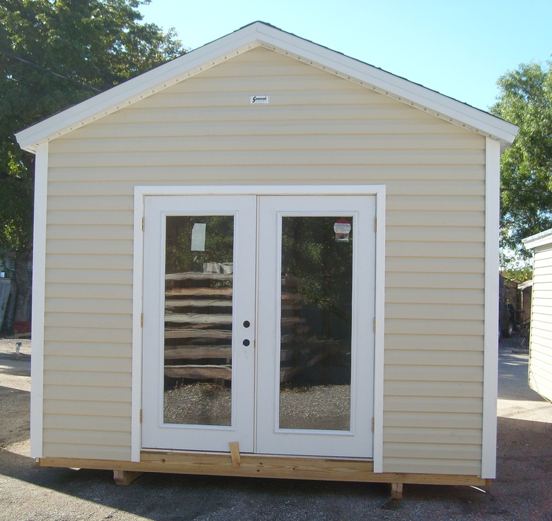 12x10 with custom doors suncrestshed for Garden shed 12x10
