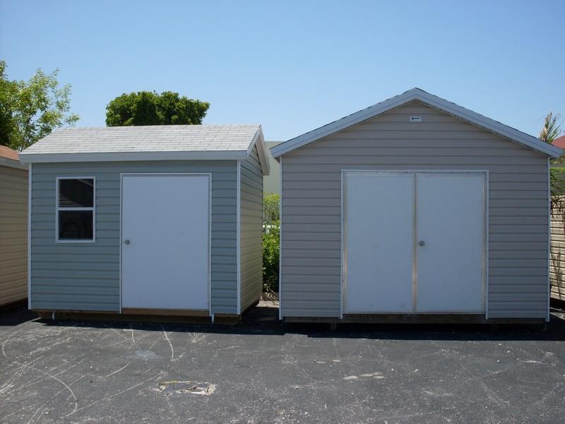 8x10 & 12x12 w/ double door