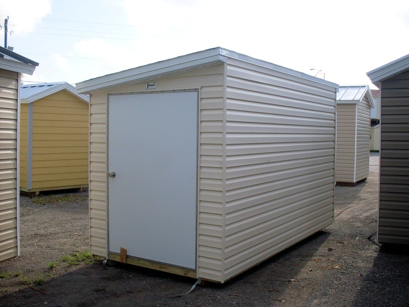 6x10 single gable