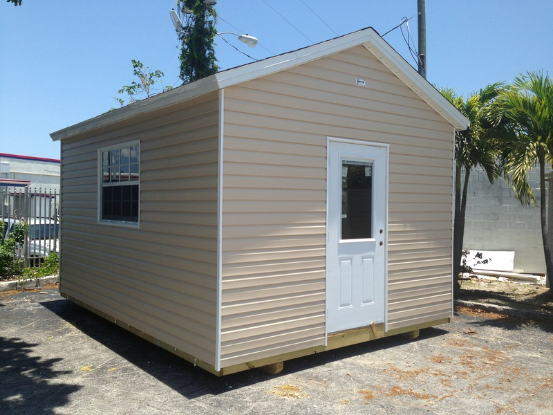 12x16 with 8 foot walls ( 8' )